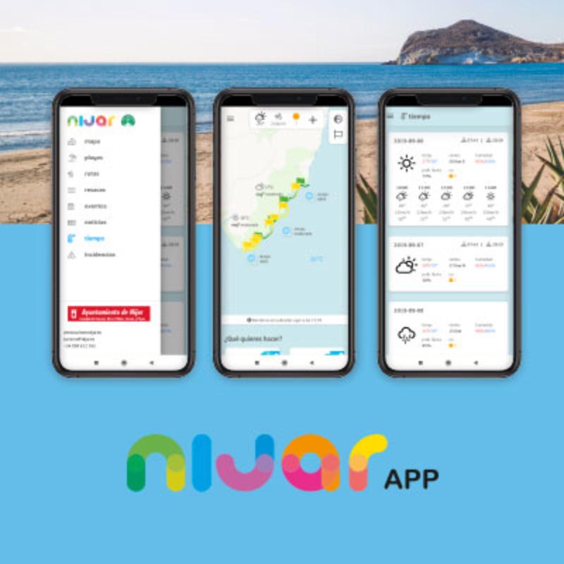 App de playas
